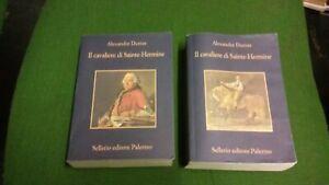 Alexandre Dumas - Il cavaliere di Sainte-Hermine - 2 voll Sellerio 2007, 9gn21