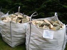 firewood logs seasoned HARDWOOD firewood bulk ton bags