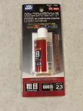 Mr Hobby Mr Compound Coarse R191:700 w/ Cloth 600 Grit Liquid Sandpaper 23
