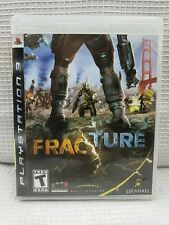 SONY PLAYSTATION 3 PS3 FRACTURE COMPLETE LUCASARTS 2008 RATED TEEN
