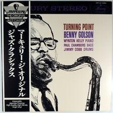 BENNY GOLSON-TURNING POINT-1980 MERCURY STEREO LP-WYNTON KELLY JIMMY COBB