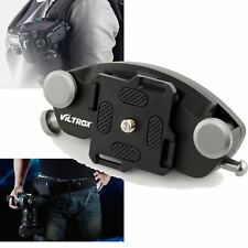 Metal Camera Fast Loading Waist Belt Buckle Mount Clip for Canon Nikon Pentax