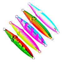 5pcs Micro Butterfly Jigs Slow Lure Snapper Jigging 40/60/80/100g Fishing Lures