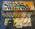 Massive Vintage Bagley Fishing Lure Crankbait Collection (45) Lures Many New
