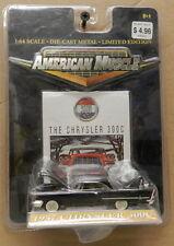 BLACK 57 1957 CHRYSLER 300C 300 C MOPAR ERTL AMERICAN MUSCLE