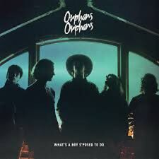 """Orphans Orphans – What's A Boy S'Posed To Do on Blue Vinyl 12"""" EP Sin Sided NEW"""