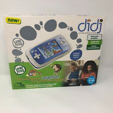 NIB LeapFrog Leapster DiDj Gaming System Blue Educational Toy Mobile Portable