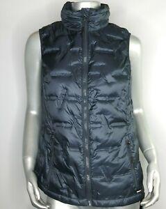 Gerry Women's Peak Sweater Down Vest India Ink full zip size small New