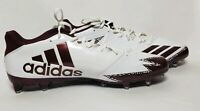 NEW Size 16adidas Freak x Carbon Low - White/Maroon  Cleats NWOB