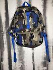 Embark Backpack Bookbag Green Blue Camouflage Camo Padded Bag Classic