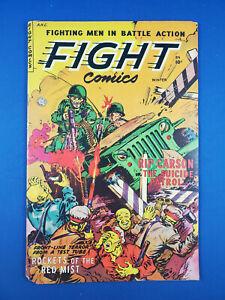 FIGHT COMICS 84 VG+ FICTION HOUSE 1952