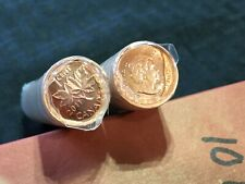 Many Available Lot of 1 2012 Original Sealed UNC Roll Canada Penny 1 Roll Only