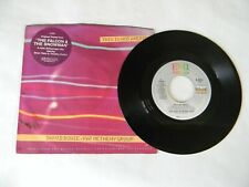 David Bowie US 45 Vinyl 7 This Is Not America VG+ Pat Metheny Hype Sticker '85