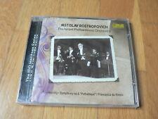 Rostropovich - Tchaikovsky : Symphony No. 6 - Israel Philharmonic Orchestra NEW
