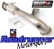 "Milltek Focus ST ST250 Decat Downpipe 3"" Largebore Stainless Exhaust SSXFD110"