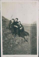 Photo group Of  Royal Navy sailors At shore base HMS Daedalus Lee On Solent