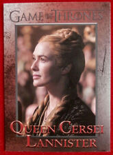 GAME OF THRONES - Season 4 - Card #51, QUEEN CERSEI LANNISTER - Rittenhouse 2015