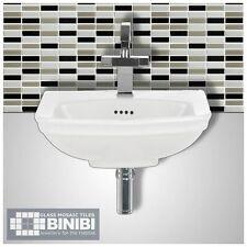 BRICK Rectangular Glass Mosaic Tiles Bathrooms Kitchens Wall Floors SALE! 4B-124