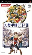 UsedGame PSP Genso Suikoden I&II [Japan Import] FreeShipping