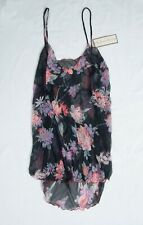 Vintage Evan-Picone Style 1604 Extremely Sheer Camisole Small in a Floral Print