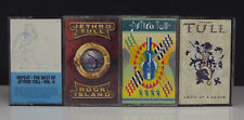 Lot 4 Jethro Tull Classic Rock Cassette Tapes - The Best Of - Rock Island