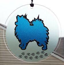 Pomeranian Dog Window Sun Ornament, Wall Hanging Decoration, Dog Lover Gift