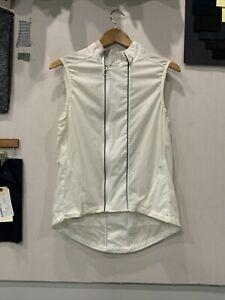 Rapha Classic Vest - Size MEDIUM - WHITE