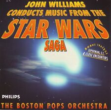 JOHN WILLIAMS STAR WARS Trilogy Saga NM 1999 Philips Canada Superman E.T. Boston