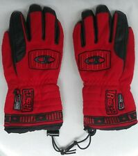 Reusch Women's Leather Windstopper Ski Gloves Snow -30 Degrees Gore-WS Size 6.5