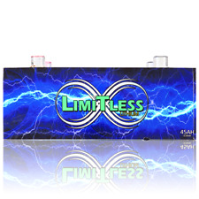 Limitless Lithium 45ah w/ Out Battery Terminals Car Audio 8500 RMS 12v LiFePO4 B