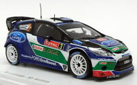 Spark 1/43 Scale S3311 - Ford Fiesta RS WRC - #3 Monte Carlo 2012