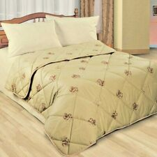Duvet mixture wool camel  cotton case. TOG 10.5