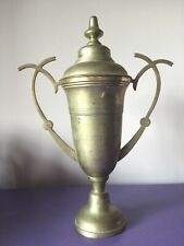 Vintage. Silver Plate Trophy. With Lid