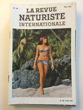 LA REVUE NATURISTE N ° 64  / 1961 / PIN UP CHARME EROTISME / NO PLAY BOY NO LUI