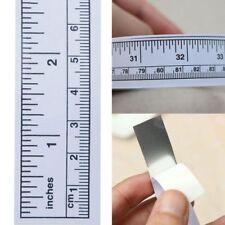 Rulers Vinyl Adhesive Machine Sewing Measure Self Tape Ruler