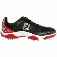 New FJ  FOOTJOY Hyperflex 45099 Golf Shoes Youth Junior Size 5M Black Red & Gray