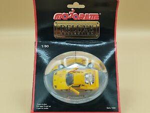 1/60 Ferrari F40 Jaune 1989 Majorette Deluxe Collection