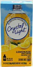 6 10-Packet Boxes Crystal Light Natural Lemonade On The Go Drink Mix