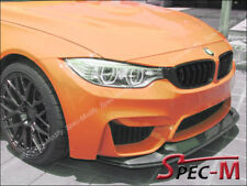GTS Style Carbon Fiber Front Bumper Spoiler Lip 2PCS Fit 2015+ BMW F80 M3 F82 M4