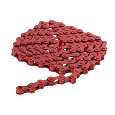 """7 Colors Bike Chains Fixed Gear Track BMX Single Speed Bicycle Chains 1/2""""x1/8"""""""