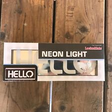 Hello Neon Light Sign