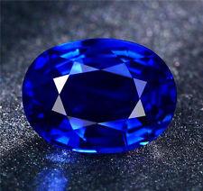 Unheated 3.10ct AAAA+ Royal Blue Sapphire 8x10mm Top Oval Shape Loose Gemstones