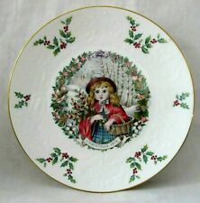 Royal Doulton Christmas Plate 1978 2nd in Series Bone China Excellent Condition