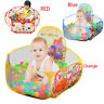 Outdoor/Indoor Portable Kid baby Ball Pit Pool Game Play Children Toy Tent LOT