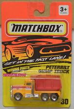 MATCHBOX 1994 PETERBILT DUMP TRUCK #30 MOVING PARTS W+