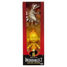Disney Incredibles 2 Jack Jack& Raccoon Dolls Figure by Jakks Pacific
