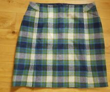 Checked A-line Tall Skirts for Women