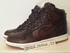 NIKE DUNK HI LUX SP brunita marrone US 8 UK 7 41 Nero Sherpa SB FRAGMENT Bianco