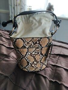 F&F Bucket Style Fashion faux leather Bag BNWT