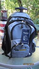 LARGE HEAVY DUTY PORT AUTHORITY WHEELED BACKPACK FOR SCHOOL OR OFFICE